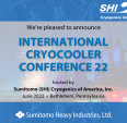 Sumitomo (SHI) Cryogenics of America, Inc. to Host 2022 International Cryocooler Conference